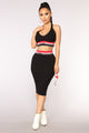 Feminist Crop Top - Black