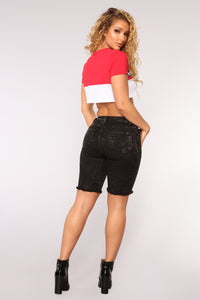 Dark Ages Bermudas - Black