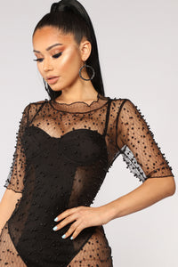 Daredevil Mesh Tunic - Black