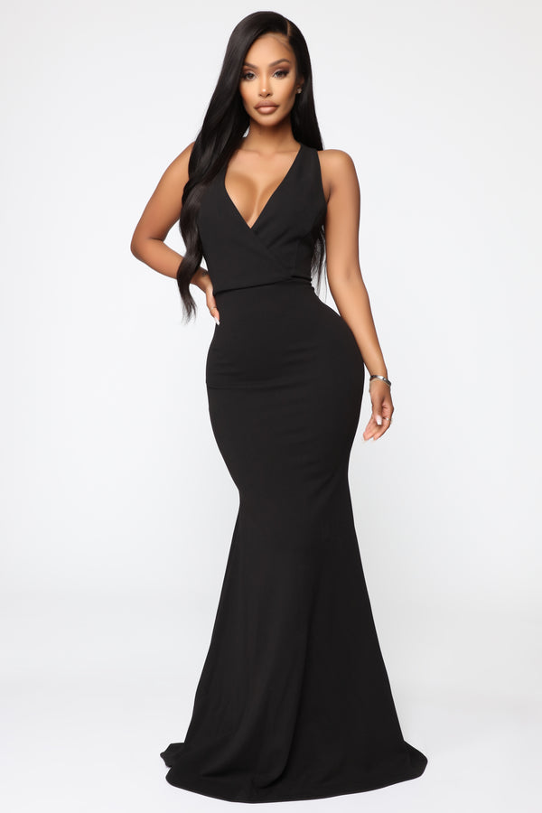08651269495d Linked To Greatness Maxi Dress - Black