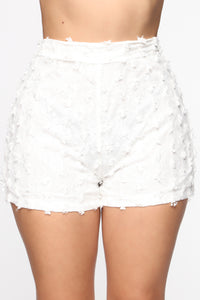 Sweet Baby Angel Short Set - White