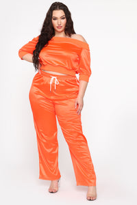 In The Name Of Love Pant Set - Orange Angle 1