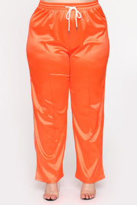 In The Name Of Love Pant Set - Orange Angle 6