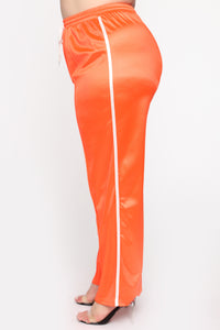 In The Name Of Love Pant Set - Orange Angle 7