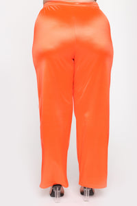 In The Name Of Love Pant Set - Orange Angle 8
