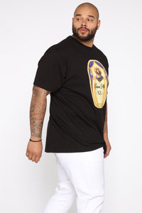 Crown Me Short Sleeve Tee - Black/combo