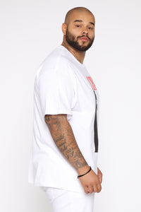 Scarface Short Sleeve Tee - White/combo Angle 10