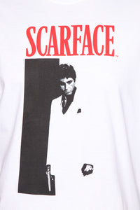 Scarface Short Sleeve Tee - White/combo Angle 13