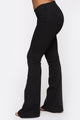 Jenny Wear Everyday Low Rise Flare Jean - Black