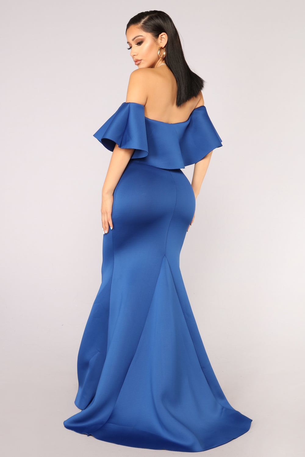 Cute But Salty Mermaid Dress - Royal