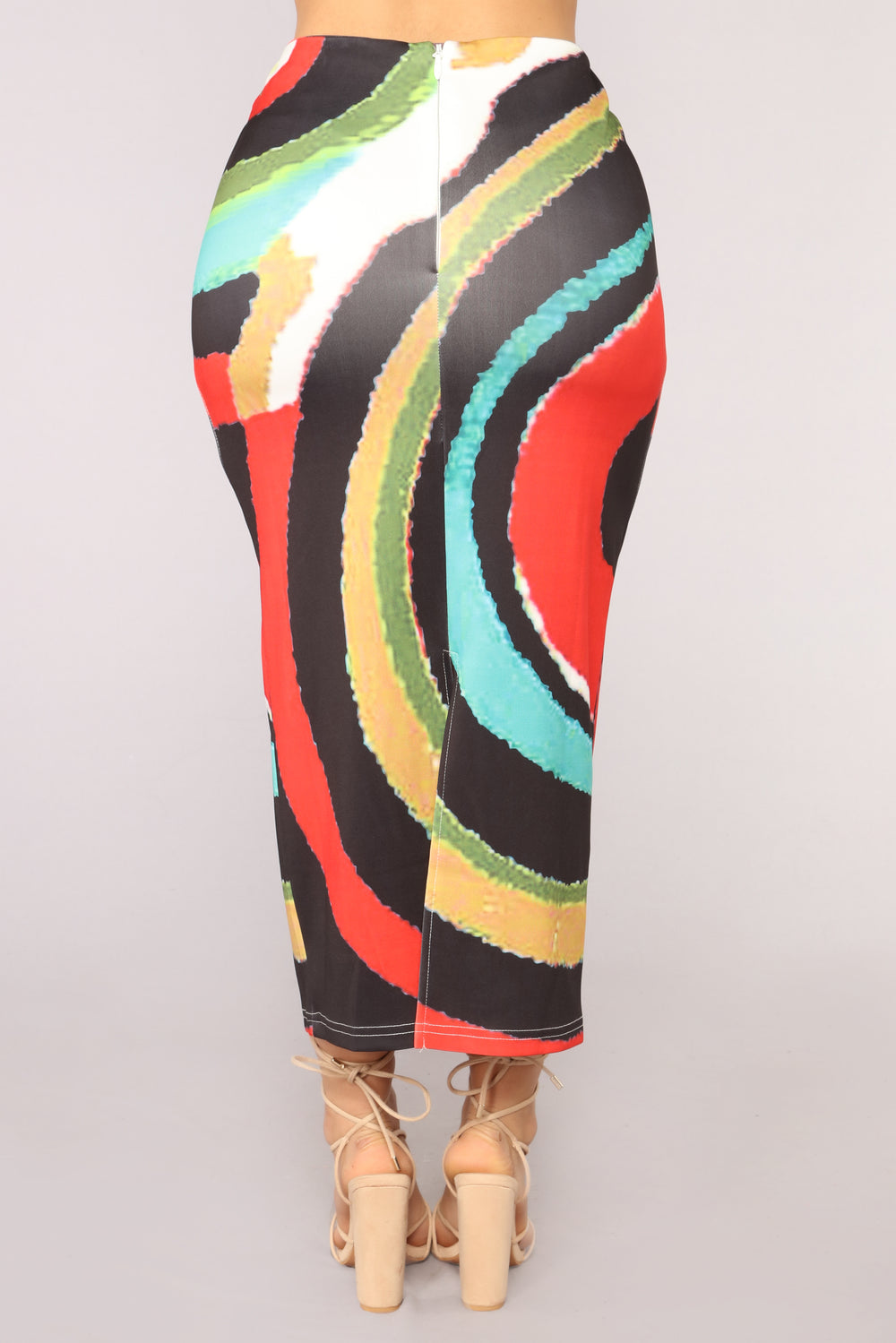 Picasso Chic Skirt - Multi