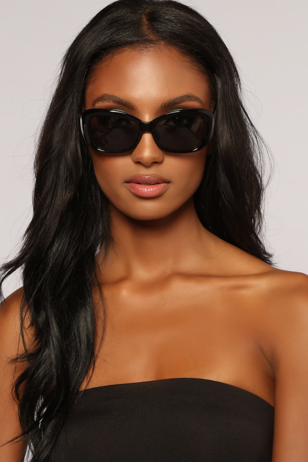 Sista Sista Sunglasses - Black/Smoke