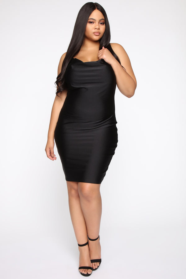776edb66247 Notify Me When Available. QUICK VIEW. NEW. Crave Me Midi Dress - Black