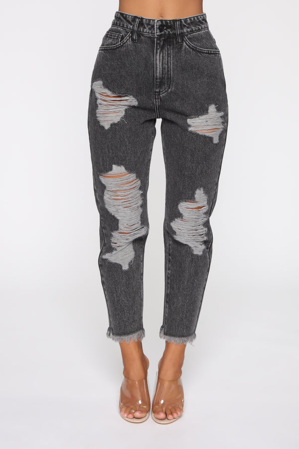 ce9d29e8c5 Icy Girl High Rise Jeans - Black