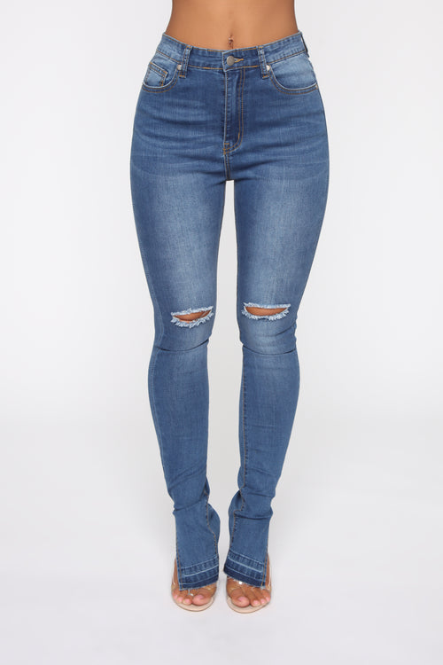 3545e2968 His Number One High Rise Jeans - Medium Blue Wash