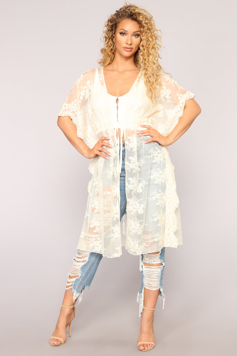From Dusk Til Dawn Kimono - Natural
