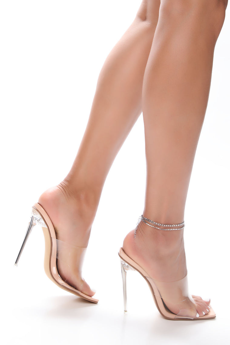 Sweet Attraction Heeled Sandal - Nude