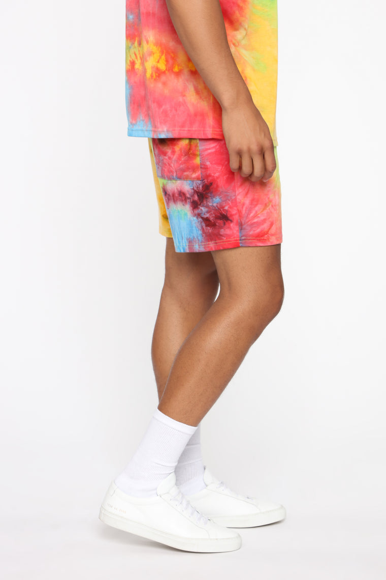 Tylighter Short - Red/combo