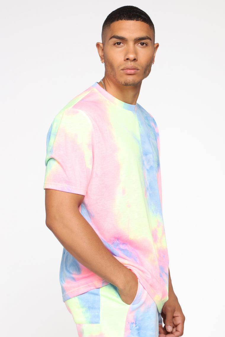 Color Me Up Short Sleeve Tee - Blue/combo