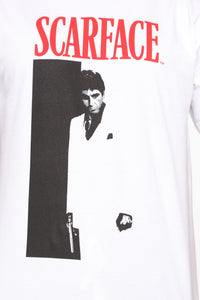 Scarface Short Sleeve Tee - White/combo Angle 7