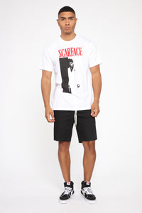 Scarface Short Sleeve Tee - White/combo Angle 3