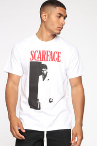 Scarface Short Sleeve Tee - White/combo Angle 1