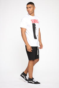 Scarface Short Sleeve Tee - White/combo Angle 5