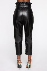 All My Leather Pants - Black Angle 6