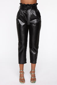 All My Leather Pants - Black Angle 2