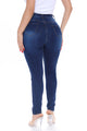 She's Back High Rise Skinny Jeans - Medium Blue Wash