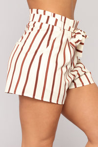 Mimosa O'Clock Striped Set - Ivory