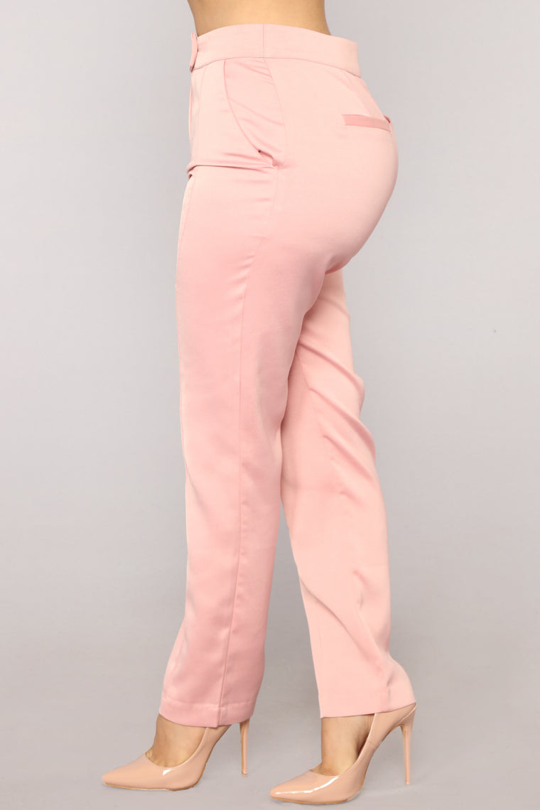 Boss Mode Trouser Set - Pink
