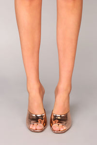 Emotionally Unavailable Heel - Rose Gold Angle 5