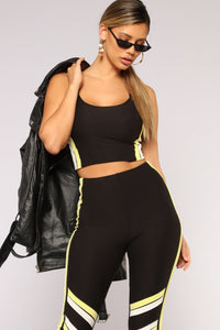Beat You To It Set - Black/Yellow