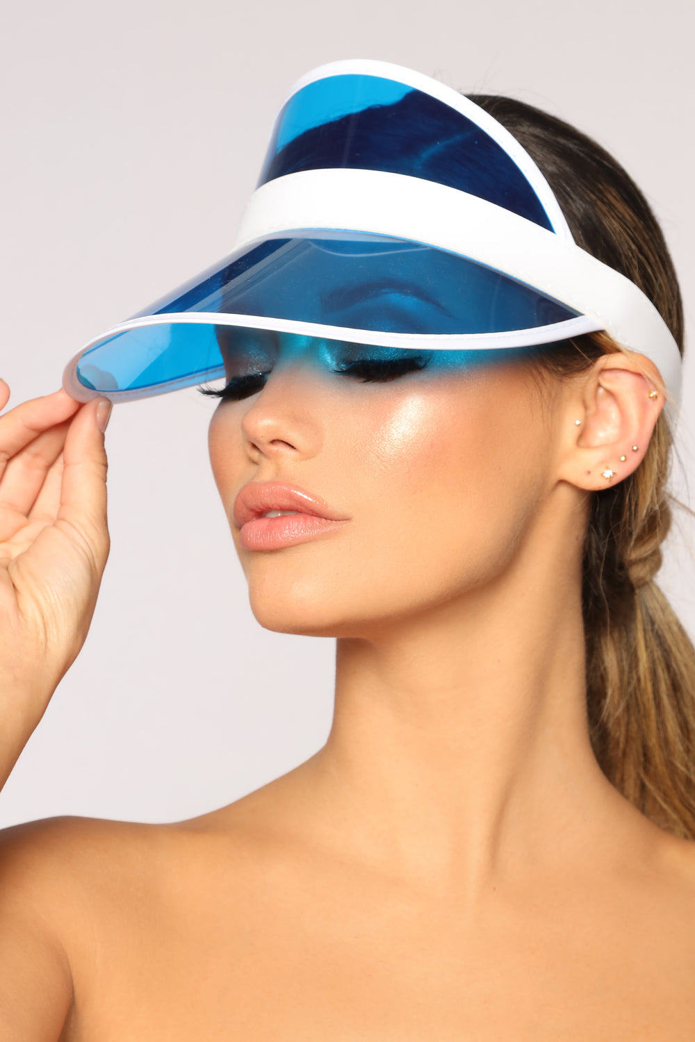 Clear Visions Visor - Blue