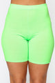 Chicago Short Set - Neon Green