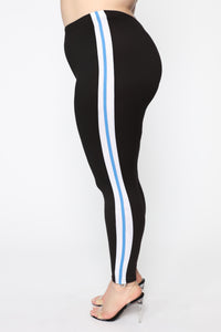 On My Way Leggings - Black/Combo
