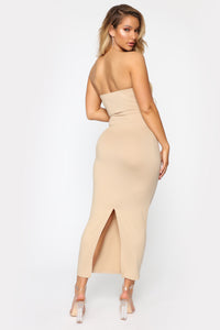 Rachel Everyday Maxi Dress - Taupe