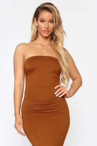 Rachel Everyday Maxi Dress - Rust