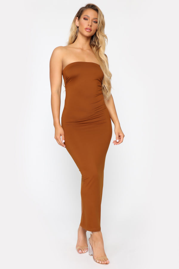 35b95526d21 Rachel Everyday Maxi Dress - Rust