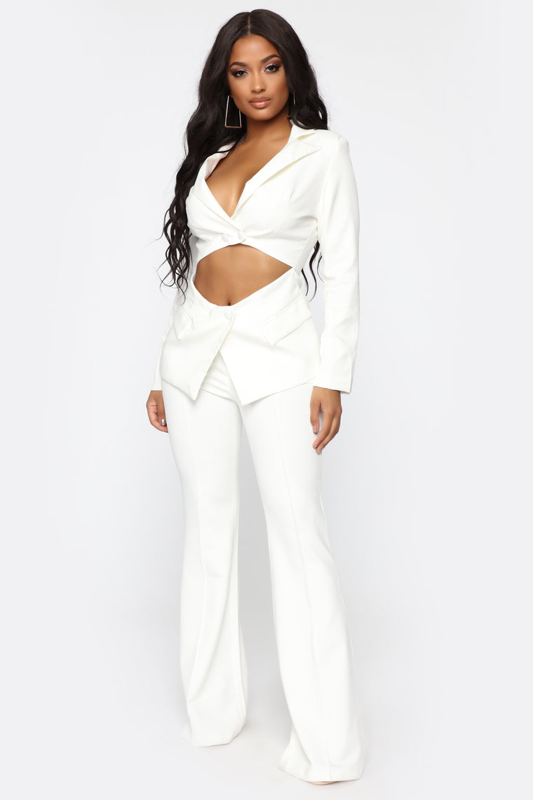Will Leave You Stunned Blazer - Ivory