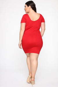 Feedback Dress - Red