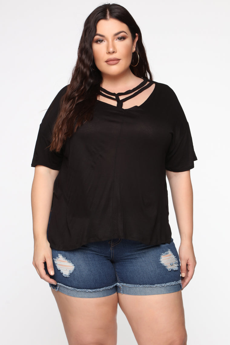 Everything To Me Top - Black
