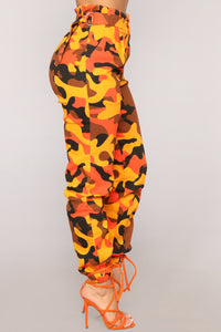 Do It Myself Cargo Pants - Orange