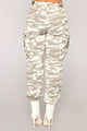 Cadet Kari Camo Pants - Grey