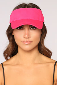 I Need Your Ad Visor - Hot Pink