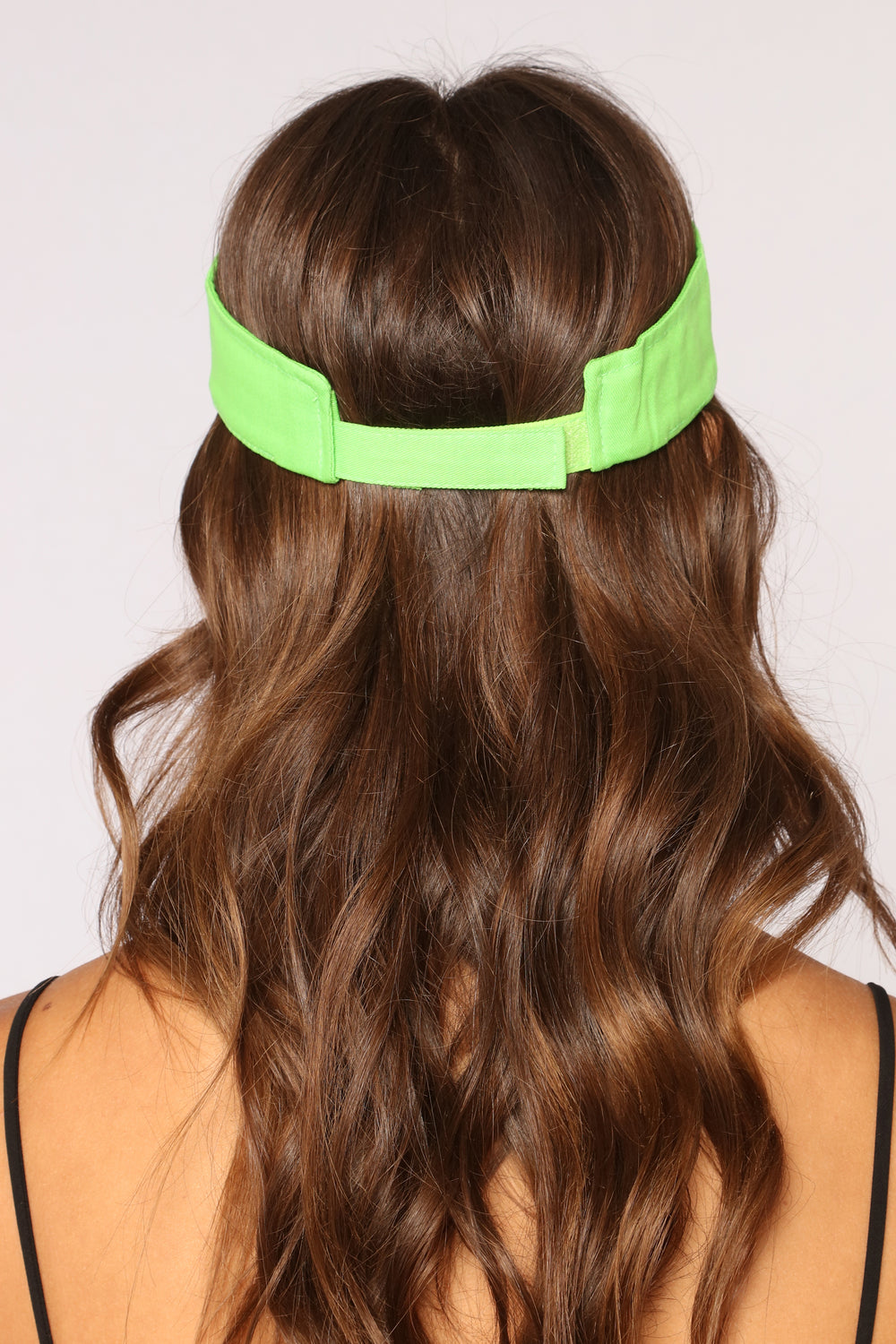 I Need Your Ad Visor - Lime Green