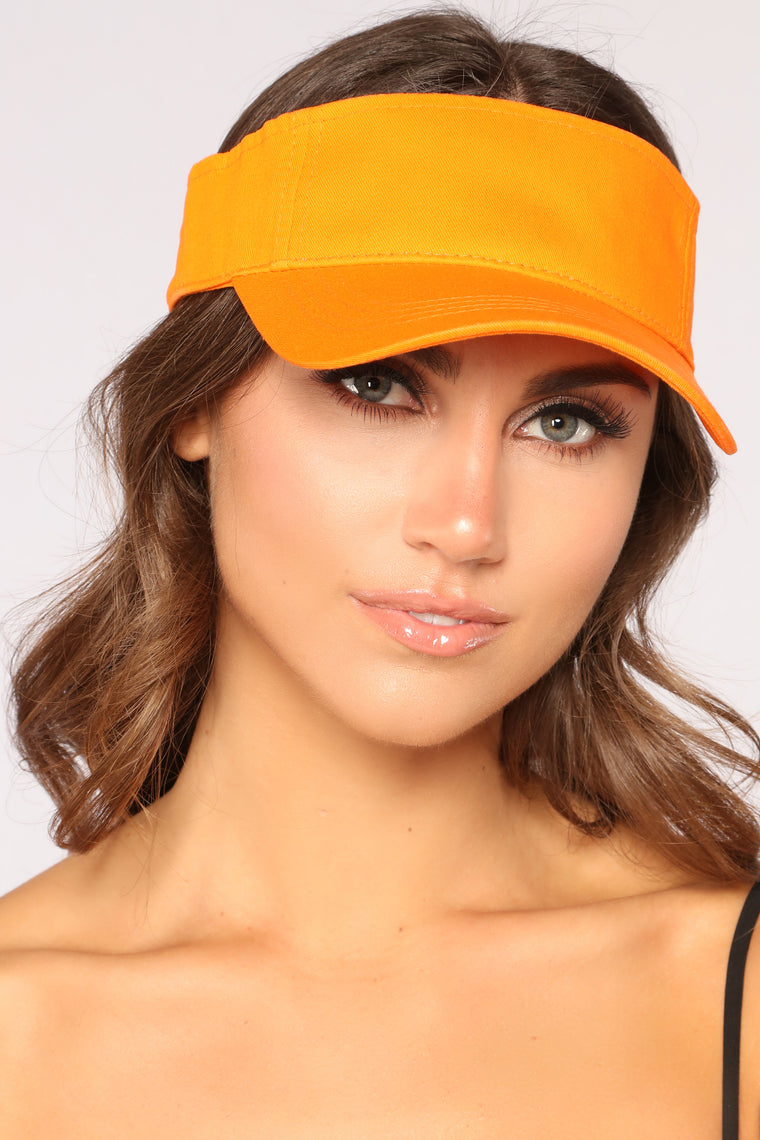 I Need Your Ad Visor - Orange