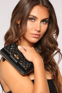 Queen Bee Wallet - Black