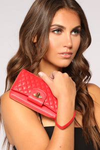 Queen Bee Wallet - Red